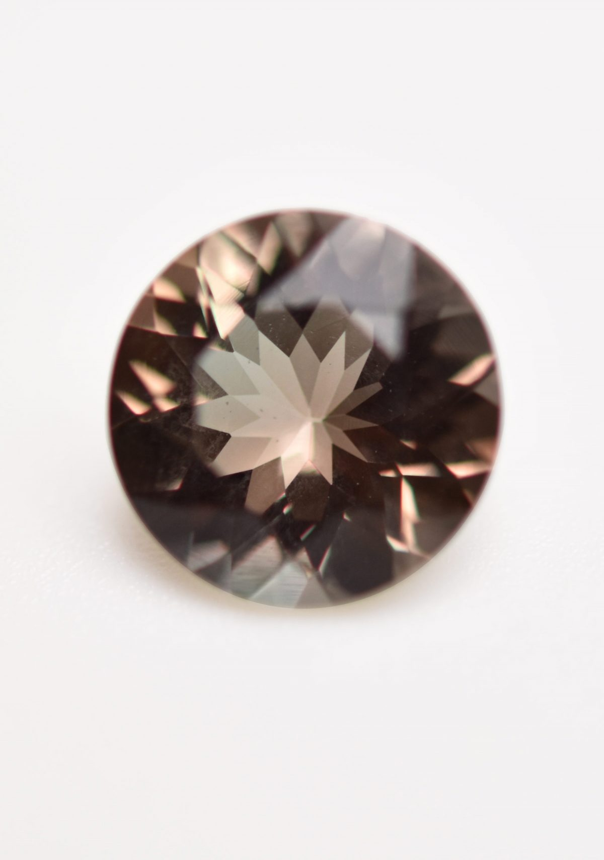 Round Sunset Color Sunstone Gemstone for Custom Ring