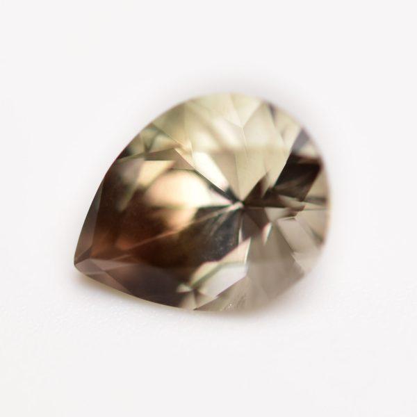 Pear Shape Sunstone Gemstone Custom Ring