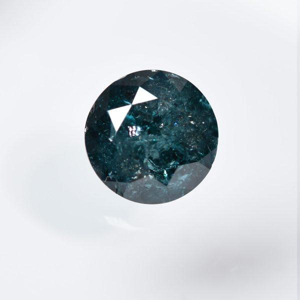 Blue Diamond for Custom Engagement Ring