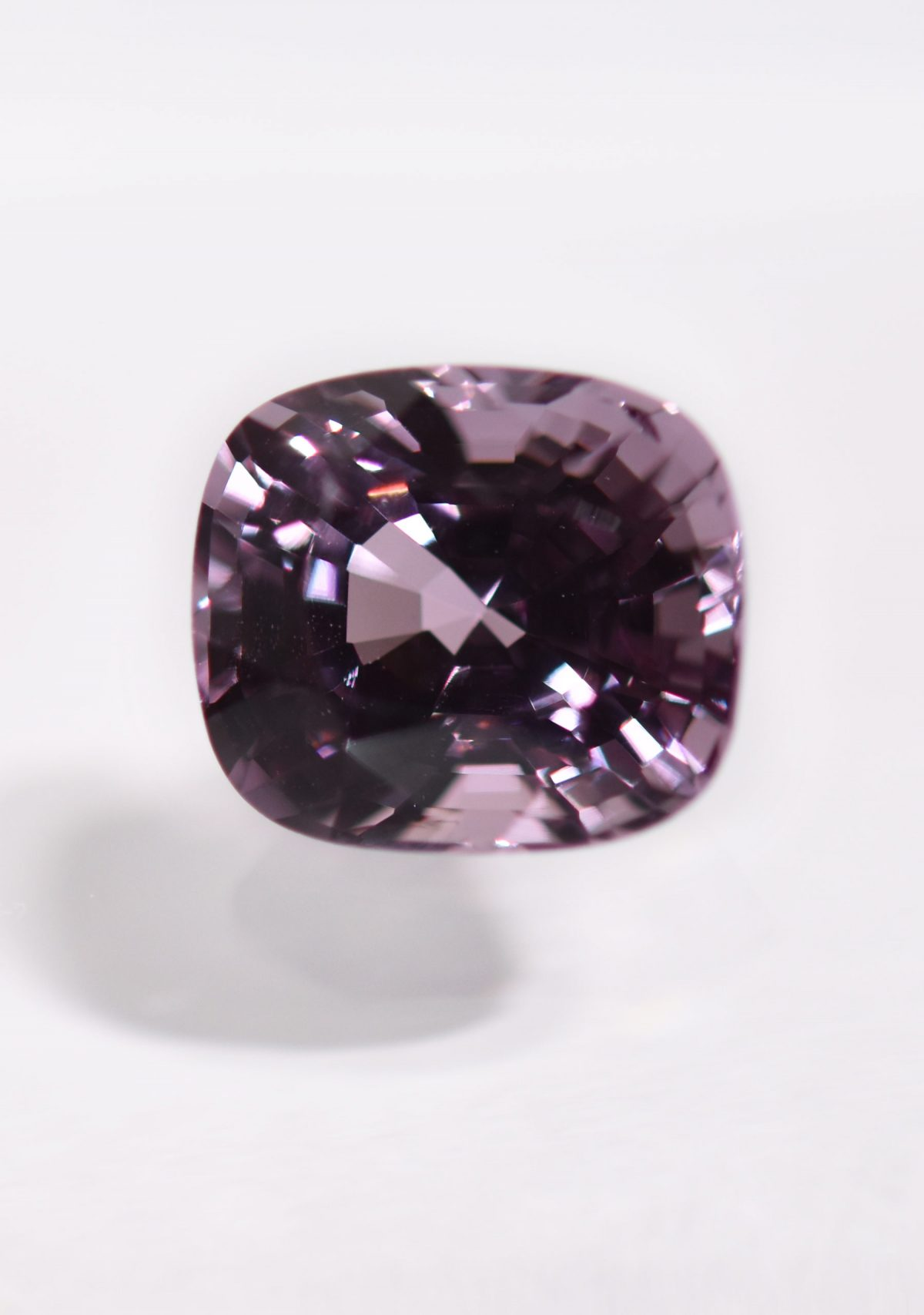Pink Spinel Gemstone for Custom Engagement Ring