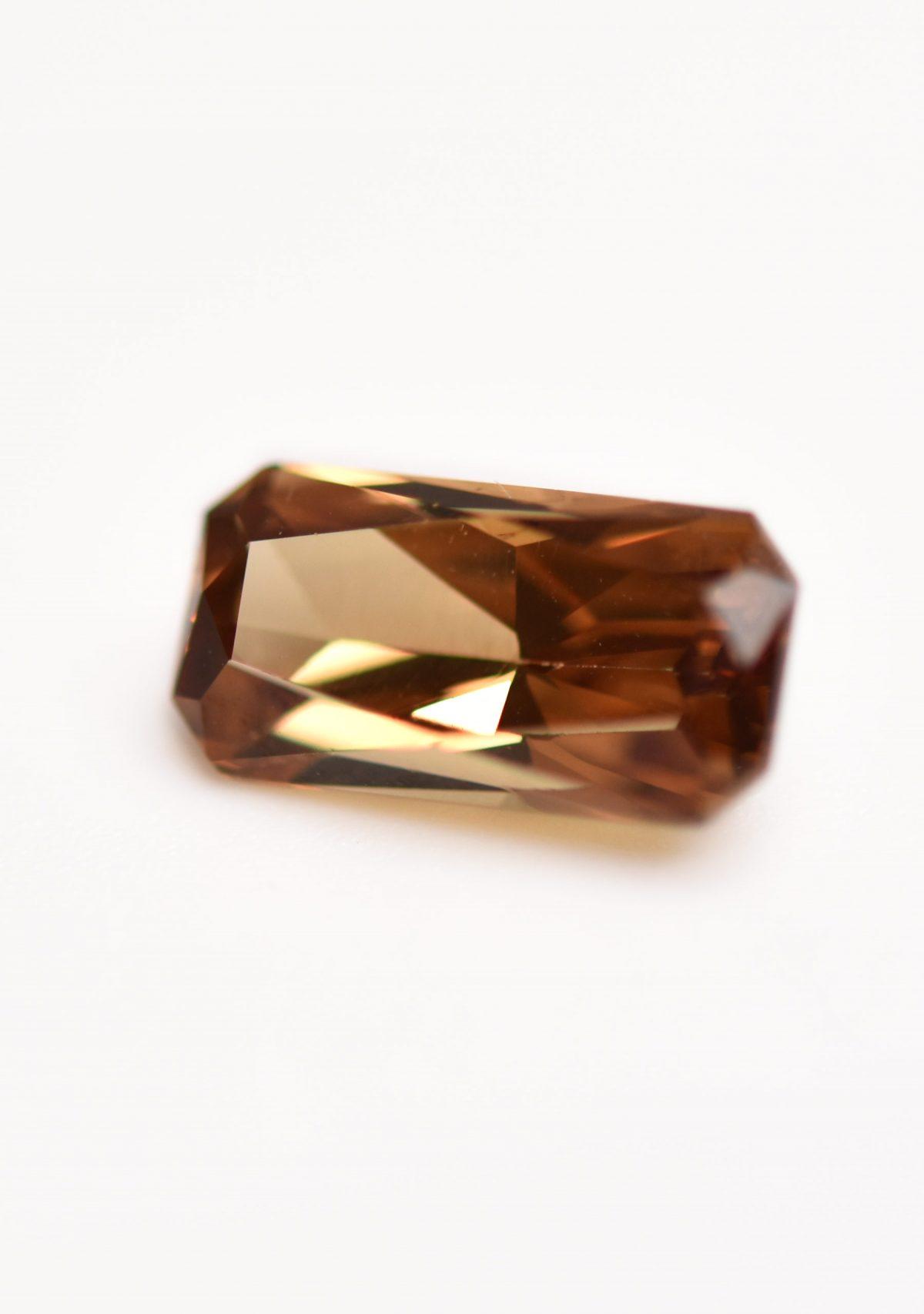 Orange Garnet Gemstone for Custom Engagement Ring