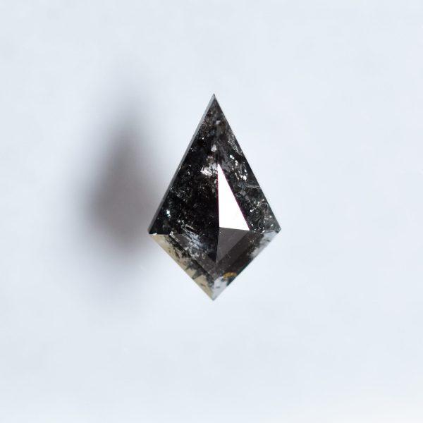 Kite Salt and Pepper Diamond for Custom Engagement Ring