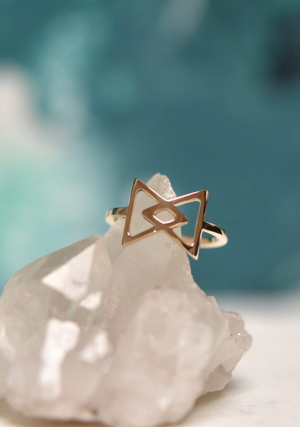 Dainty 10k Gold Ring