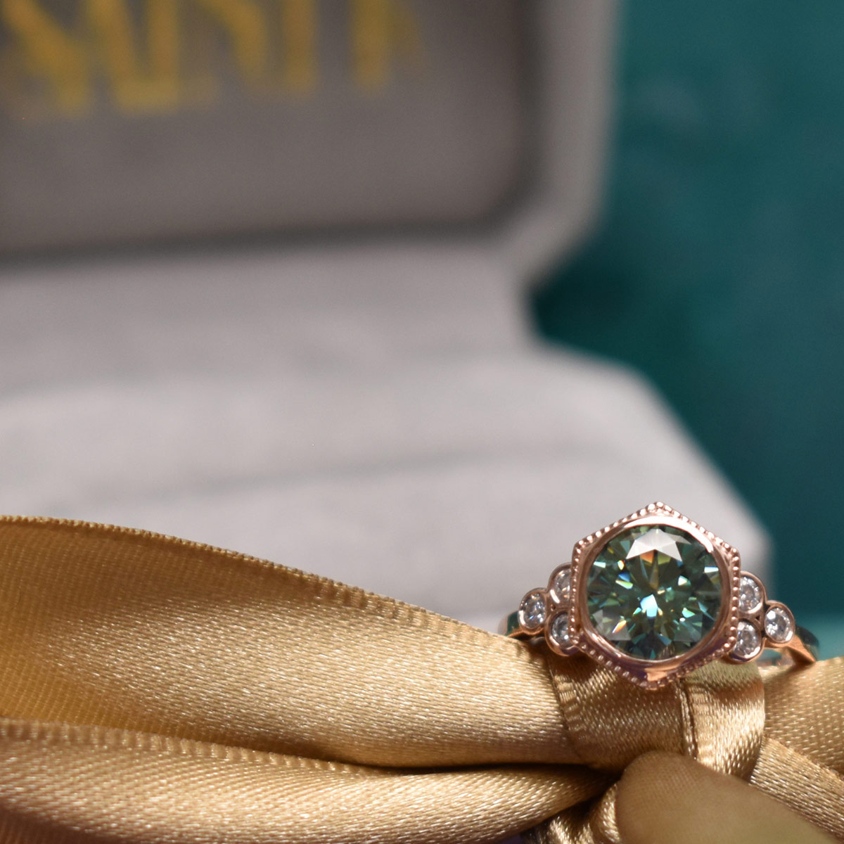 Saint K Custom Engagement Rings and Unique Moissanite Jewelry