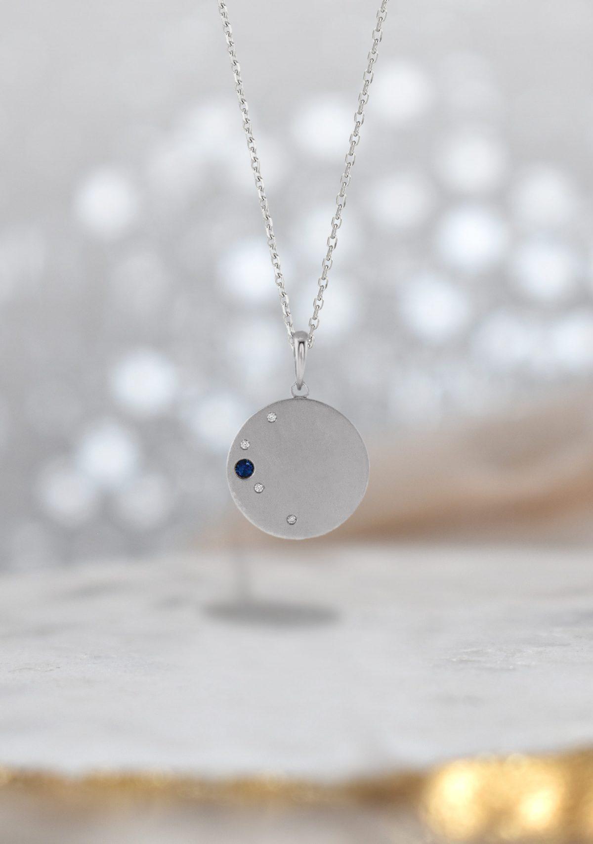 Saint K Family Birthstone Necklace