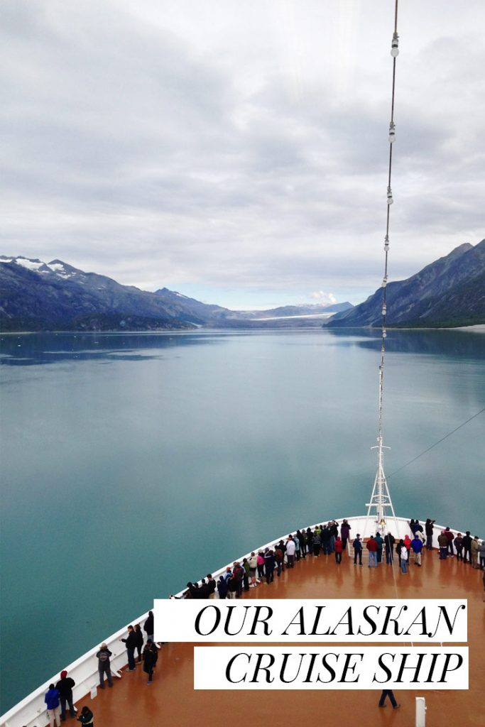 From the Saint K Blog: Alaskan Cruise Ship