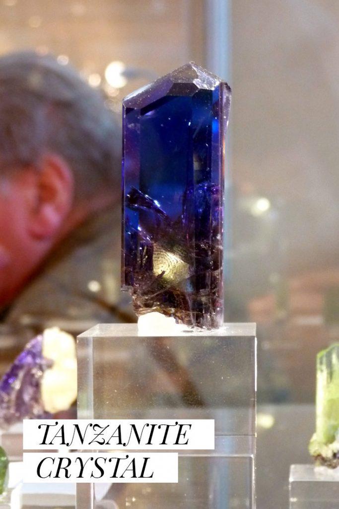 From the Saint K Blog: Tanzanite Crystal