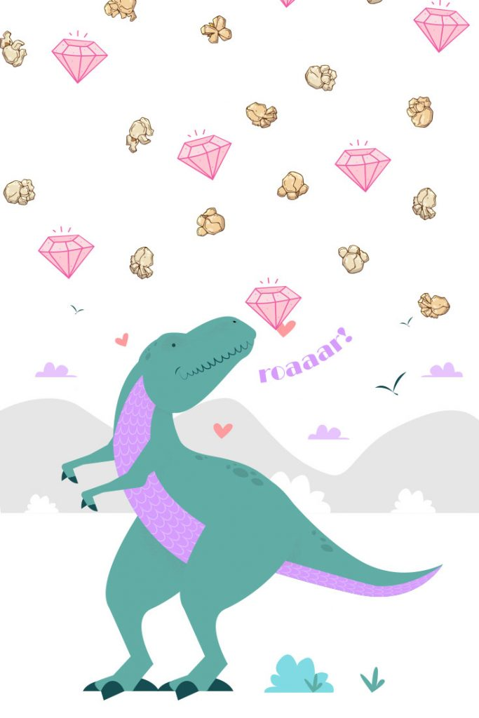 pink diamonds were created back in the age of dinosaurs