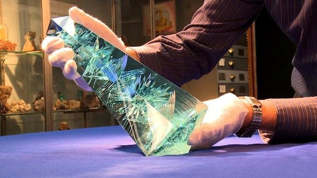 World's Largest Cut Aquamarine Gemstone