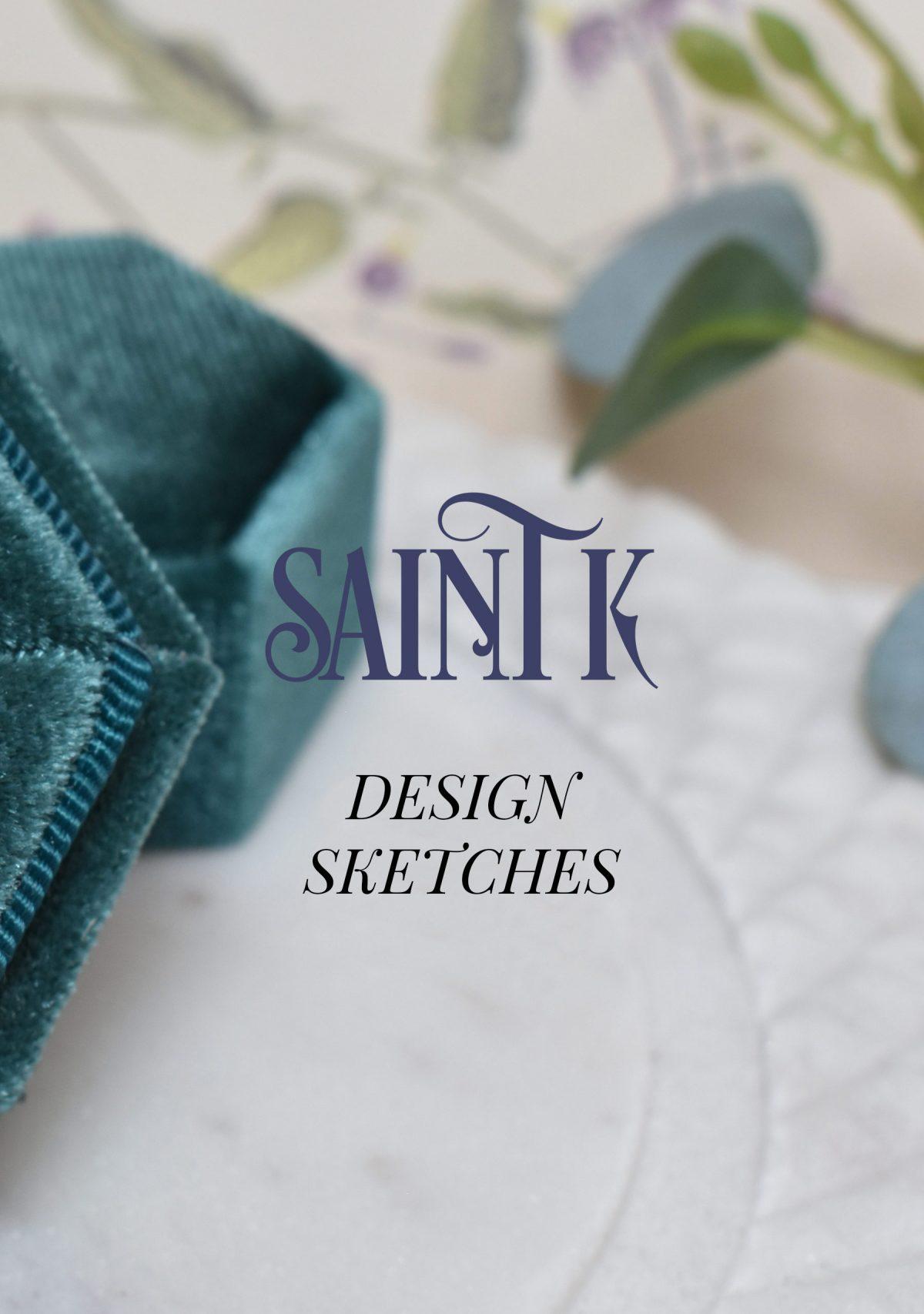 custom jewelry design sketches fee