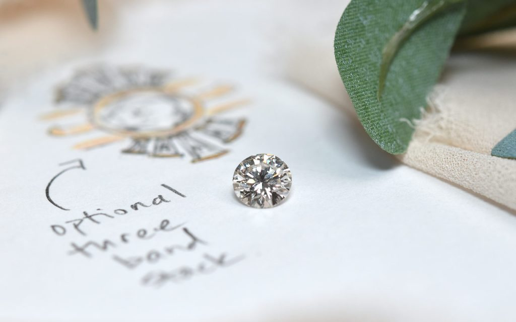 reimagined and repurpose engagement ring after divorce